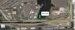 Spokane St Pier rally point